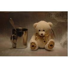 плюшевые медвежата с шарфиками (15 см)