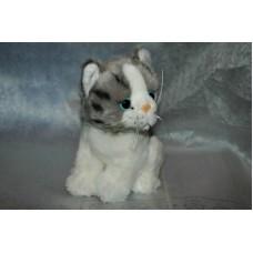 котенок серый (15 см)