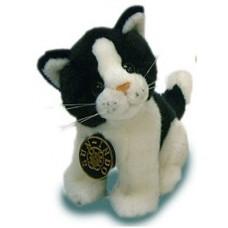 котенок черно-белый (15 см)